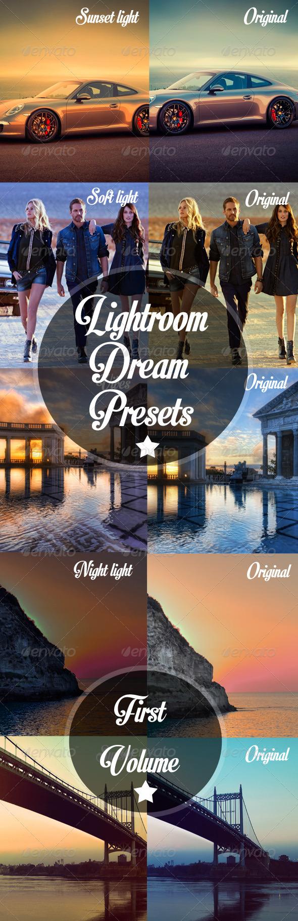 GraphicRiver Lightrooms Dream Presets 5244464