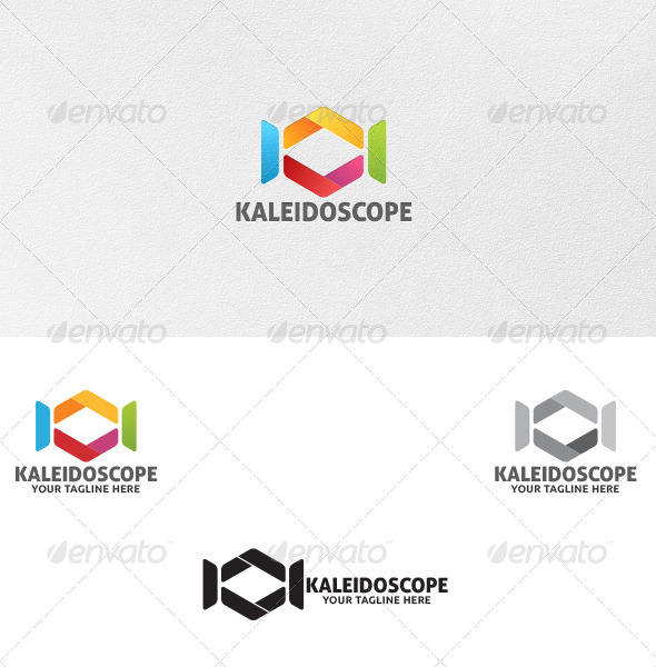 GraphicRiver Kaleidoscope Logo Template 5261533