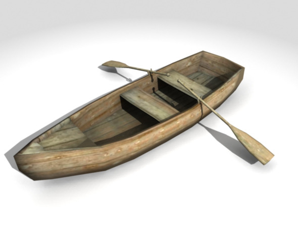 3DOcean Low Poly Boat 5261719
