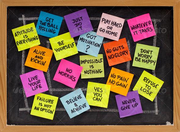 PhotoDune motivational slogans and phrases 549286