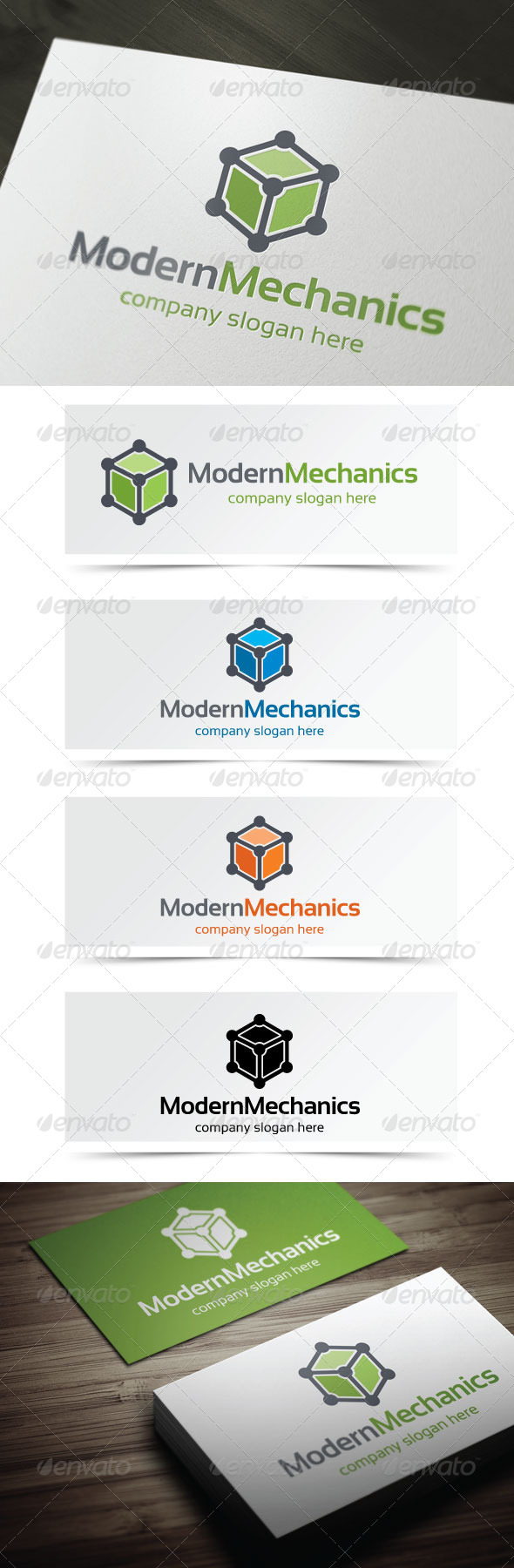 GraphicRiver Modern Mechanics 5262043