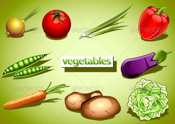 GraphicRiver Vegetables Collection 5262048
