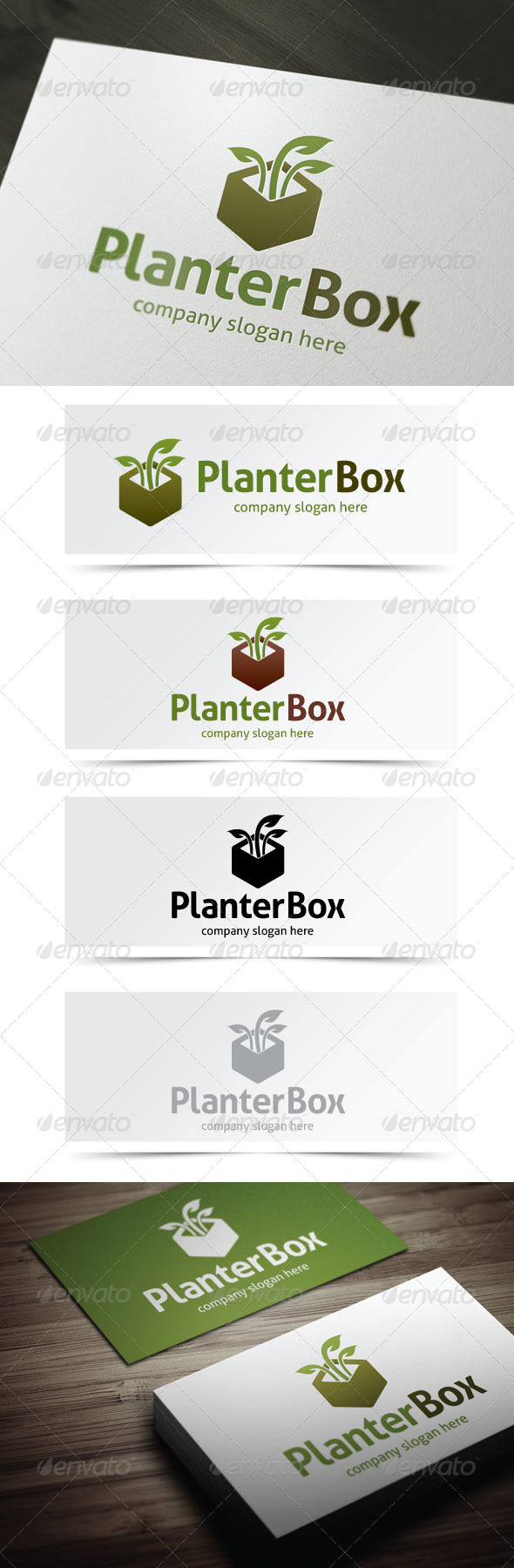 GraphicRiver Planter Box 5262070
