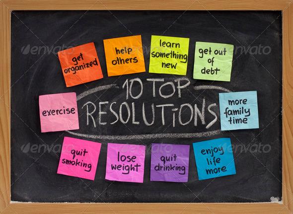 PhotoDune 10 top new year resolutions 545432