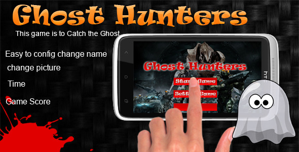 CodeCanyon Android Game Ghost Hunters 5262629