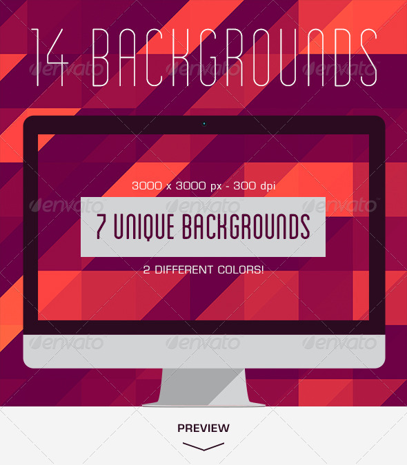 14 Geometric Backgrounds