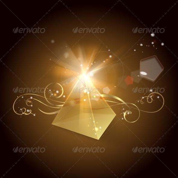 GraphicRiver Golden Pyramid 5263251