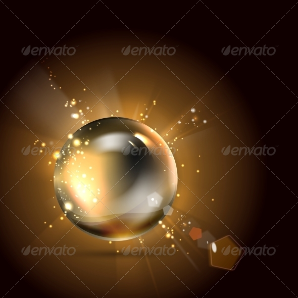 GraphicRiver Golden Shiny Perl 5263255