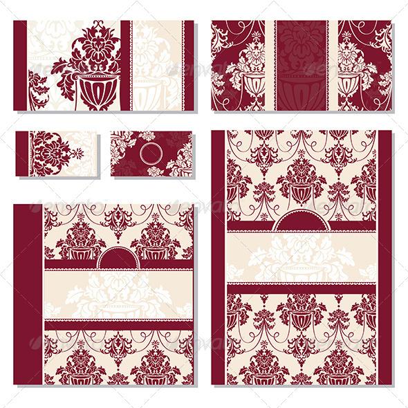 GraphicRiver Floral Frames 5263298