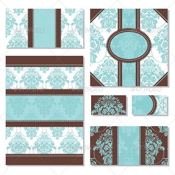 GraphicRiver Floral Frames 5263300