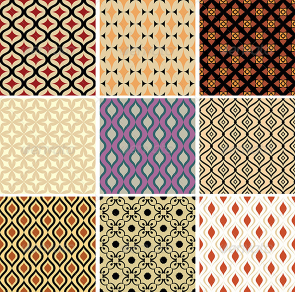 GraphicRiver Abstract Vector Patterns 5263307