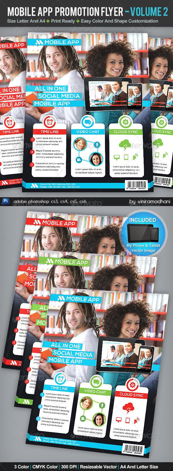 GraphicRiver Mobile App Promotion Flyer Volume 2 5212304