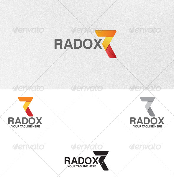 GraphicRiver Letter R Logo Template 5263943