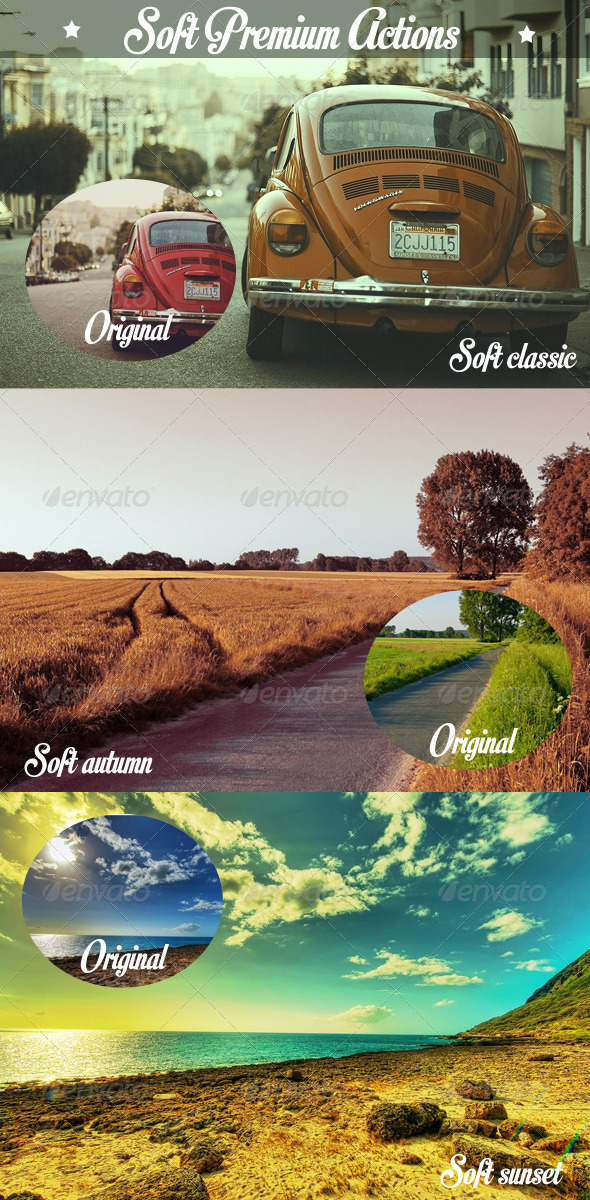 GraphicRiver Soft Light Actions 5264791