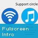 jQuery Responsive Fullscreen Intro