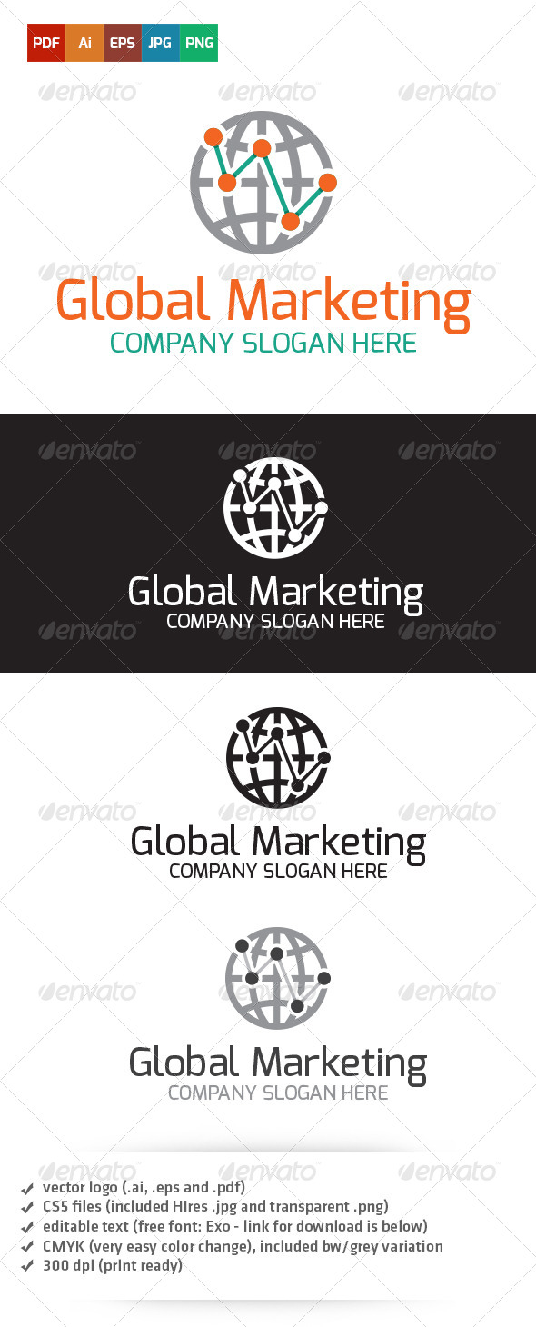 GraphicRiver Global Marketing Logo 5265302
