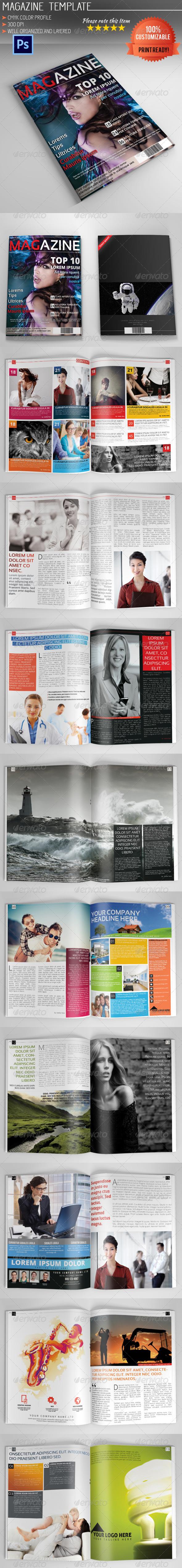 GraphicRiver Magazine Template Vol.3 5265329