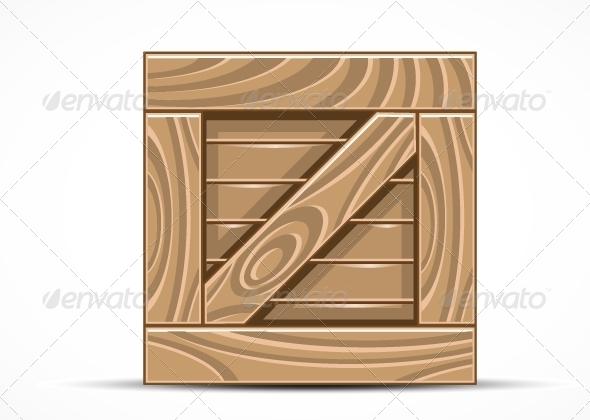 GraphicRiver Wooden Box 5265741