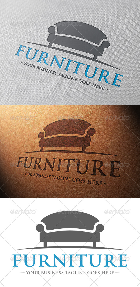 Furniture Store Logo Template - Objects Logo Templates
