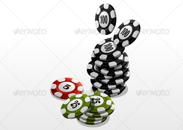 GraphicRiver Poker Chips 5265863