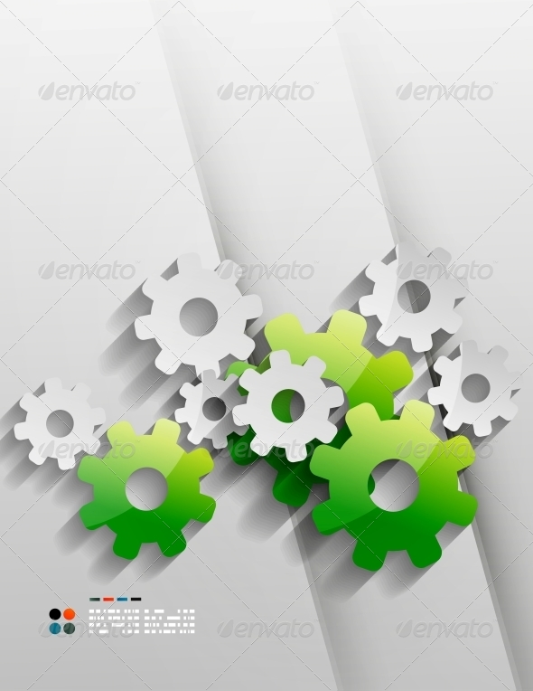 GraphicRiver Gears Set 5266091