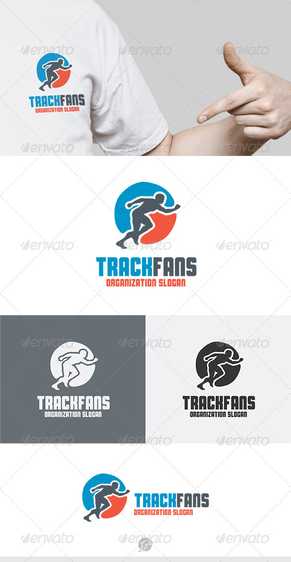 GraphicRiver Track Fans Logo 5266186