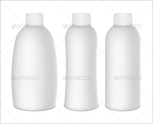 GraphicRiver Plastic Bottles 5266364