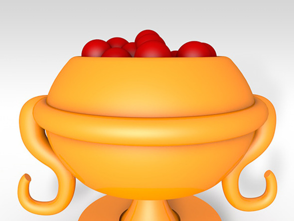 3DOcean Cup with Fruits 5266387