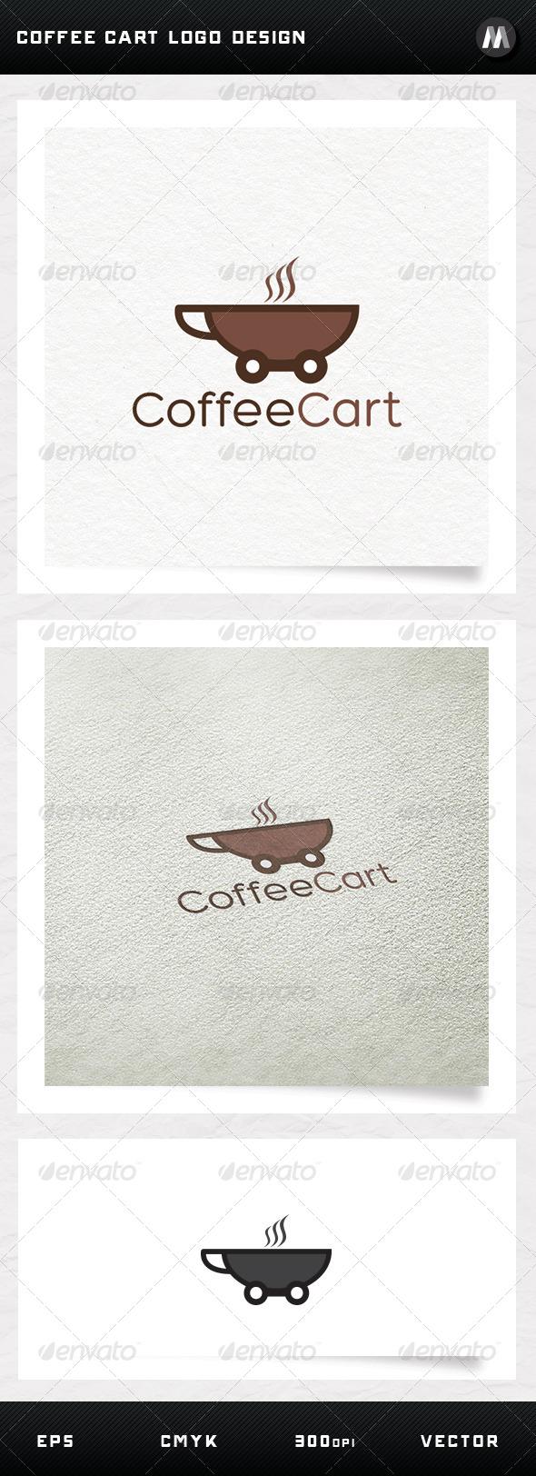 GraphicRiver Coffee Cart Logo Design 5252854