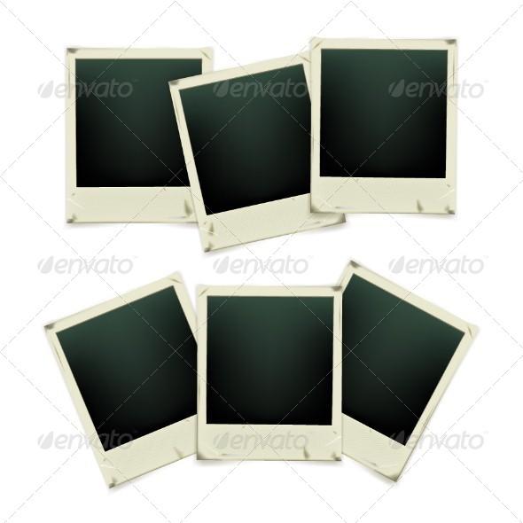 GraphicRiver Set of Retro Photo Frames 5266761
