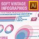 Soft Color Vintage Infographics 02 - GraphicRiver Item for Sale