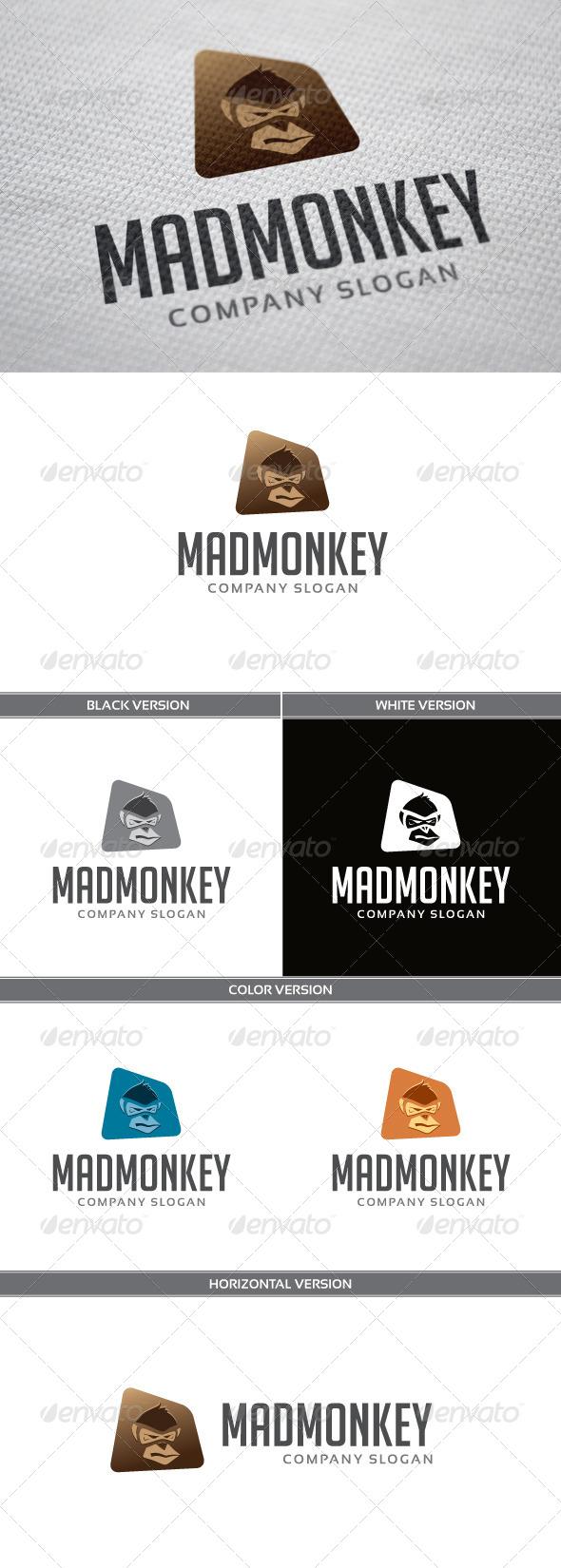 GraphicRiver MadMonkey Logo 5266875