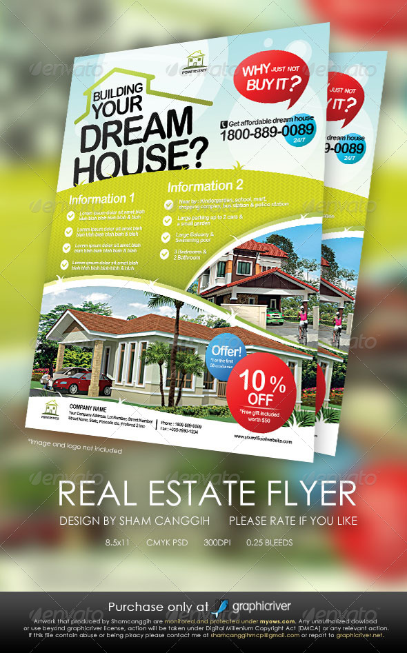Real Estate Modern Flyers - Corporate Flyers