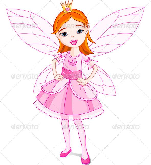 GraphicRiver Fairy Princess 5268213
