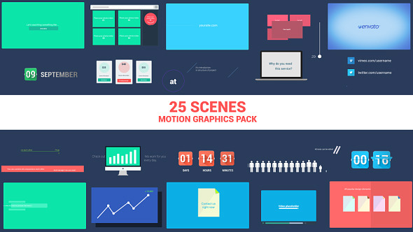 Corporate Motion Elements Pack