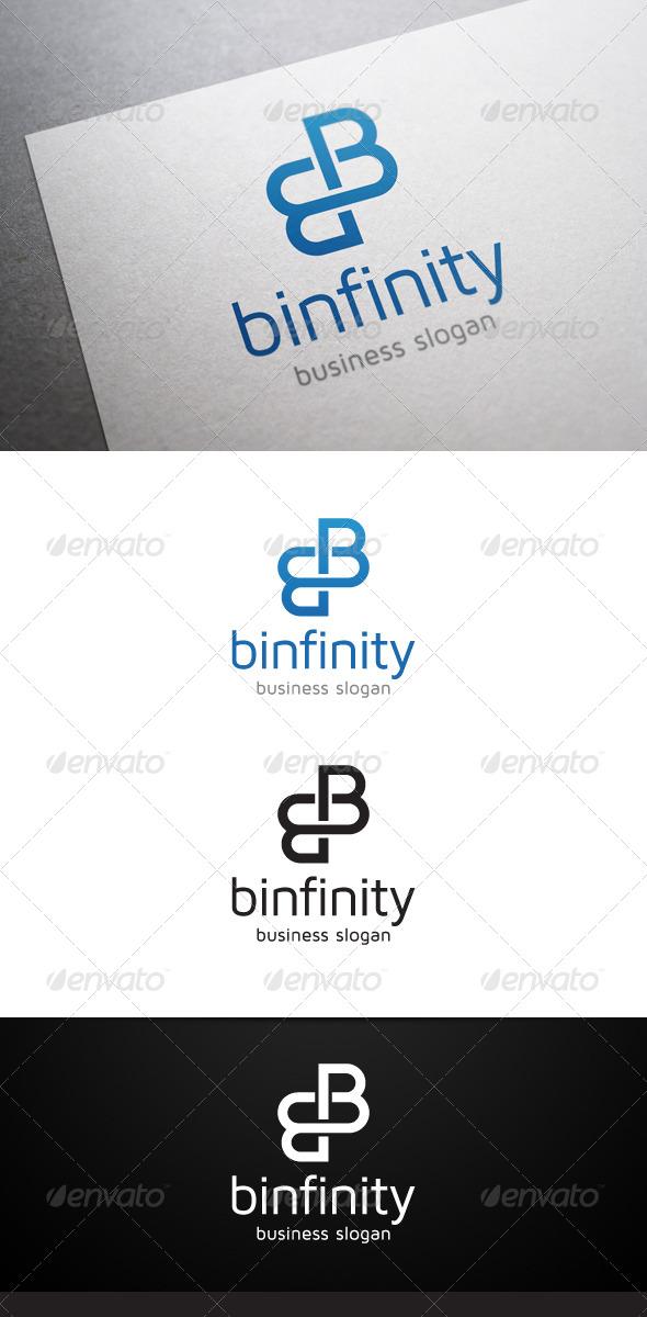 GraphicRiver Binfinity B Letter Logo 5268573