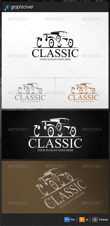 GraphicRiver Classic Car Logo Templates 5268926