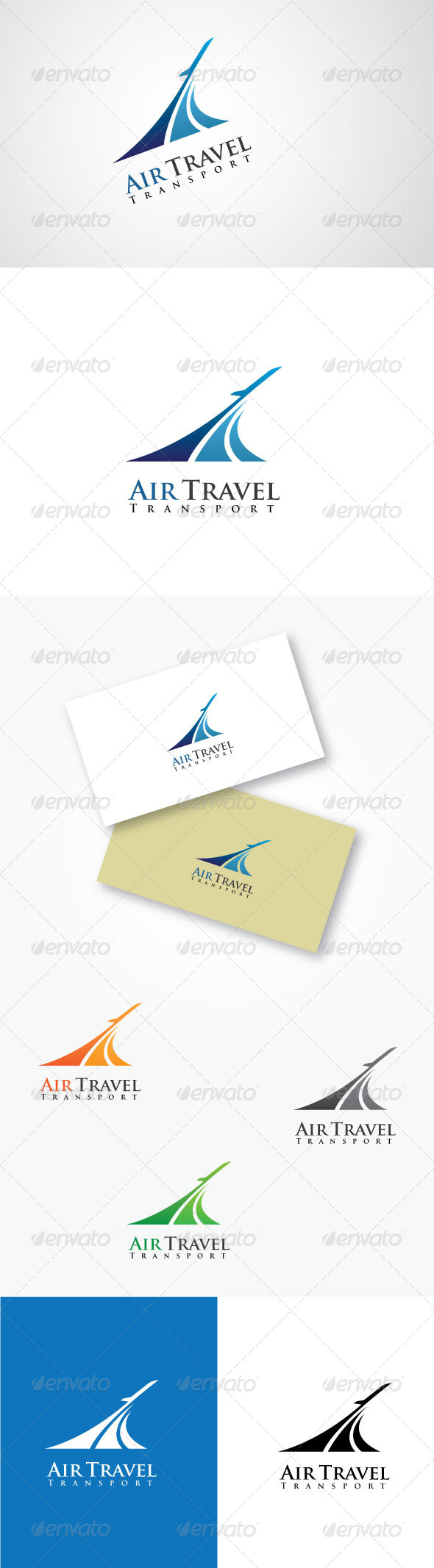 GraphicRiver Air Travel Transport Logo 5269028
