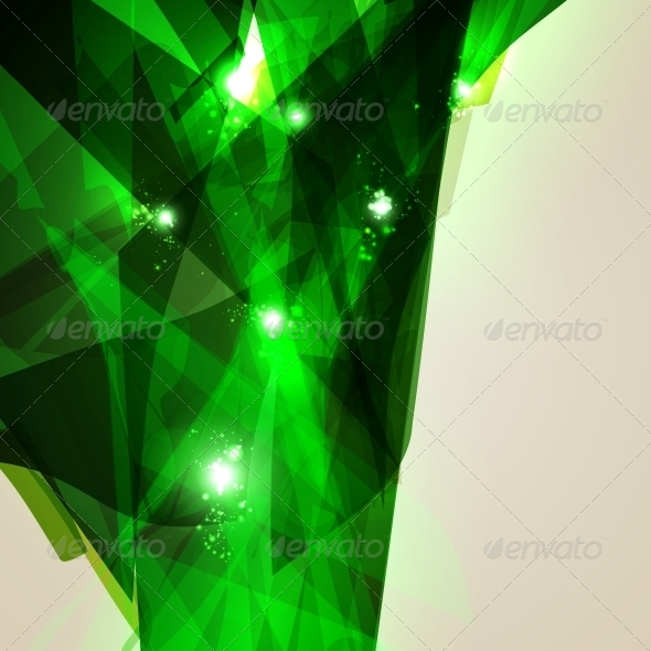 GraphicRiver Abstract Geometric Lines Shiny Space 5269718