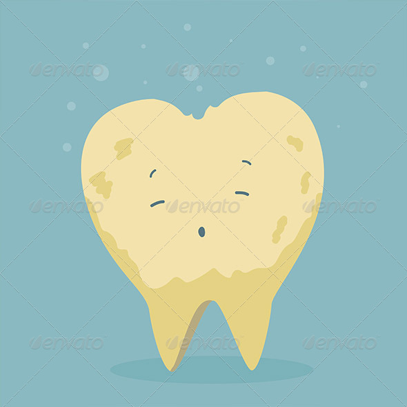 GraphicRiver Sick Tooth 5269724