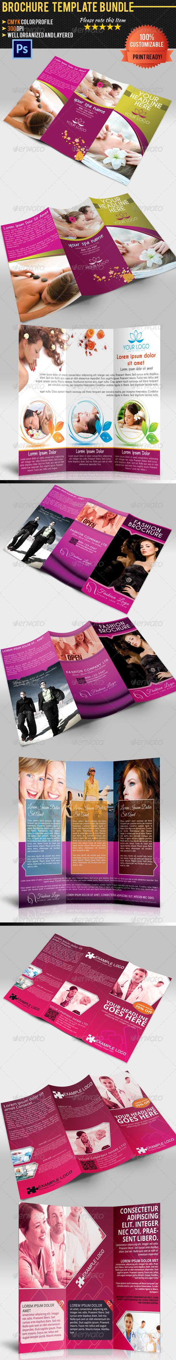 GraphicRiver Tri-Fold Brochure Bundle 5269767