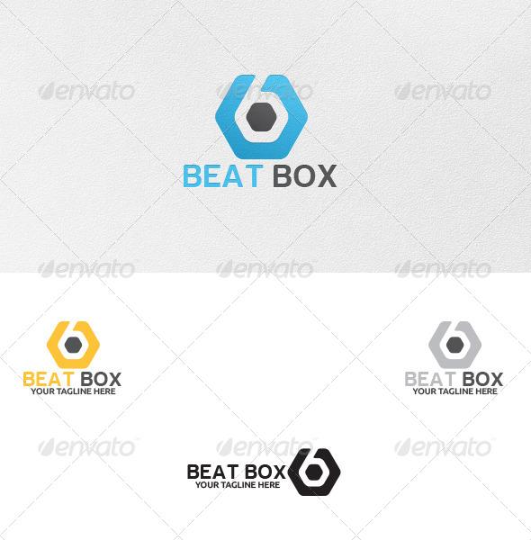 GraphicRiver Beat Box Logo Template 5270147