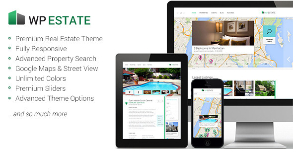 ThemeForest WP Estate Responsive WordPress Theme 5042235