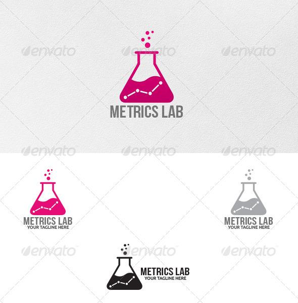 GraphicRiver Metrics Lab Logo Template 5270734