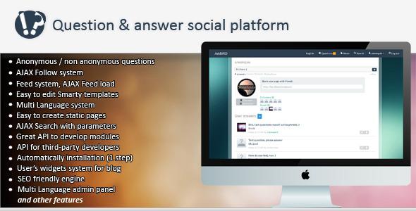 CodeCanyon askBird Question&Answer Social Platform 5258598