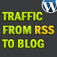 Traffic From RSS to BLOG