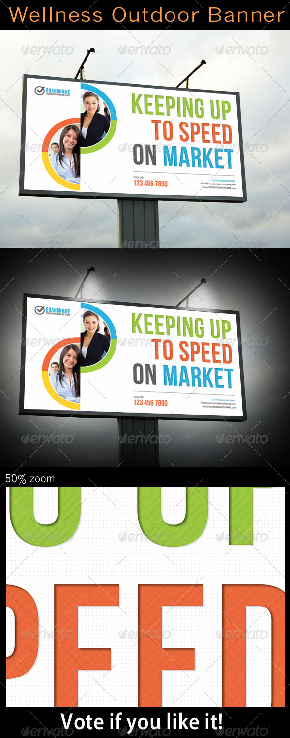 GraphicRiver Corporate Outdoor Banner 5228699