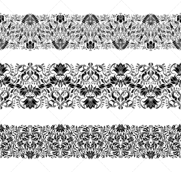 GraphicRiver Horizontal Elements Decoration Vector 5271760
