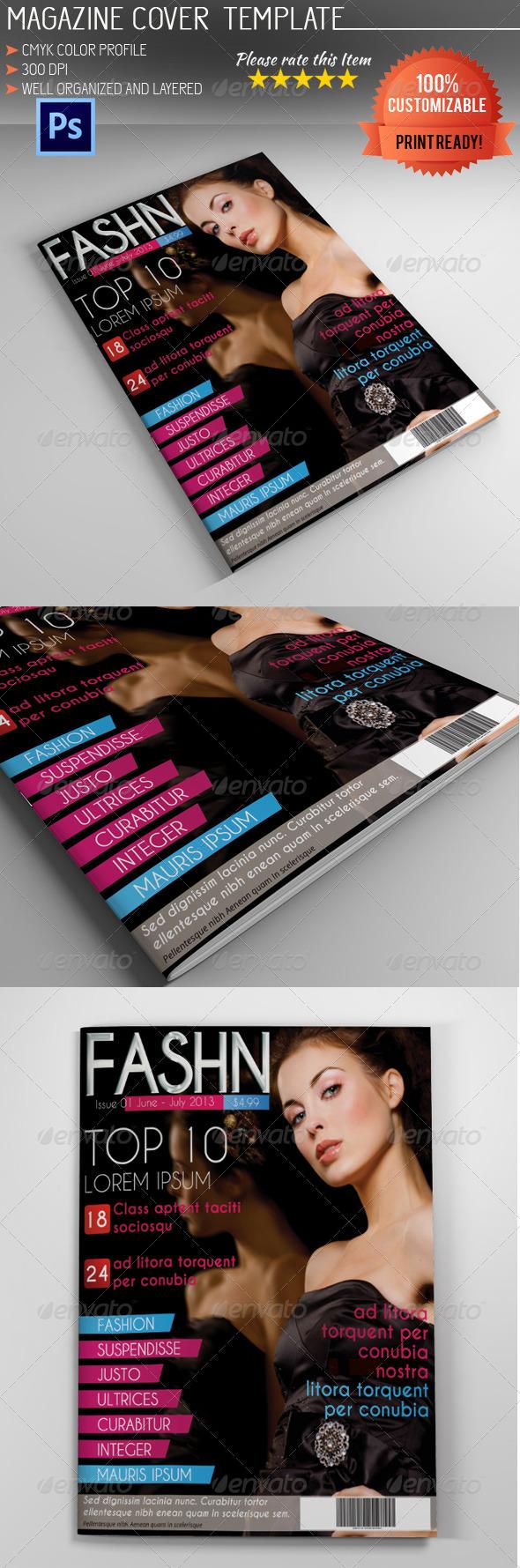 GraphicRiver Magazine Cover Template Vol.2 5213881