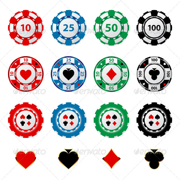 GraphicRiver Gambling Chips 5272330